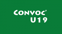 Convocations U19 14 04 2018