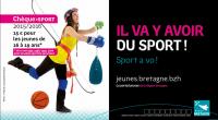 Chèque Sport 2015/2016: pour bouger sans se ruiner! La Région Bretagne lance cette année encore le dispositif Chèque sport pour inciter les jeunes bretons âgés de 16 à 19 ans […]