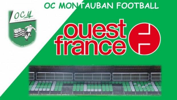 Retour sur le match de DSR entre les Seniors A de l'OC Montauban et le 1er du groupe, Guipry-Messac !
