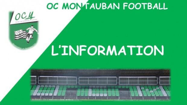 Retour en enfance pour les plus anciens…Amusement pour les plus jeunes… La nouveauté de la saison 2016-2017, pour la première fois depuis 64 ans l' OC Montauban Football met en […]
