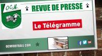 Après le journal Ouest-France, retour dans LE TELEGRAMME sur la 13ème journée de DSR entrele FC Sénéet l'OC Montauban. FC Séné 0-3 OC Montauban (Buts : CSC, Nathan Herviaux et […]
