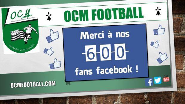 Quatre mois après sa création, la page Facebook publique de l'OC MONTAUBAN Football connaît un véritable succès… En effet, le club vient de dépasser la barre des 600 «j'aime» sur […]