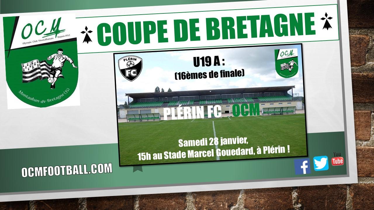 Olympic club montauban football tirage au sort de la coupe de bretagne u19 - Tirage coupe de bretagne football ...