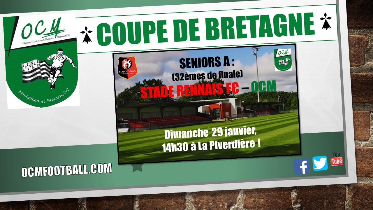 Olympic club montauban football tirage de la coupe de bretagne pour les seniors a - Coupe de bretagne seniors ...