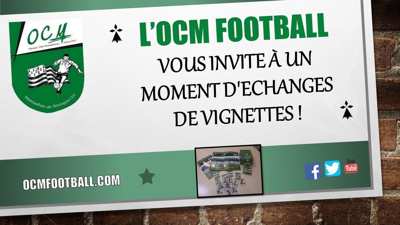 Olympic Club Montauban Football Echanges De Vignettes Au Foyer Du