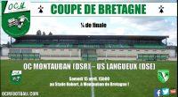 Demain, à 15h aura lieu le coup d'envoi historique du 1/4 de finale de la coupe de Bretagne ! Les «vert et blanc»accueillent l'US Langueux (DSE) au stadeA.Robert dans un […]