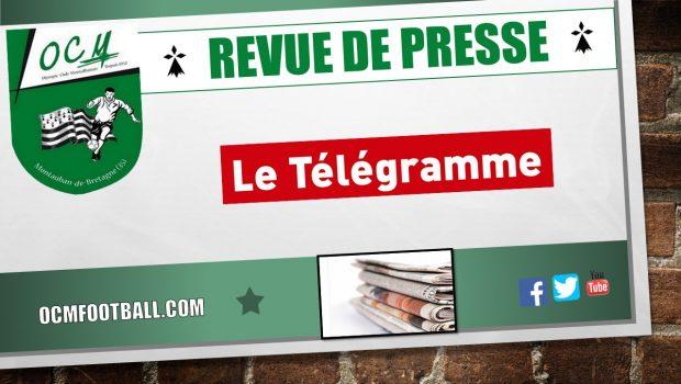 Le Télégramme Saint-Brieuc est également revenu à son tour sur l'élimination des seniors A en coupe de Bretagne !