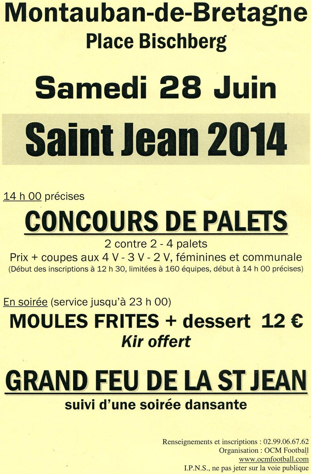 Affiche St Jean 2014