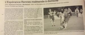 RennesEsp. - OCMontauban